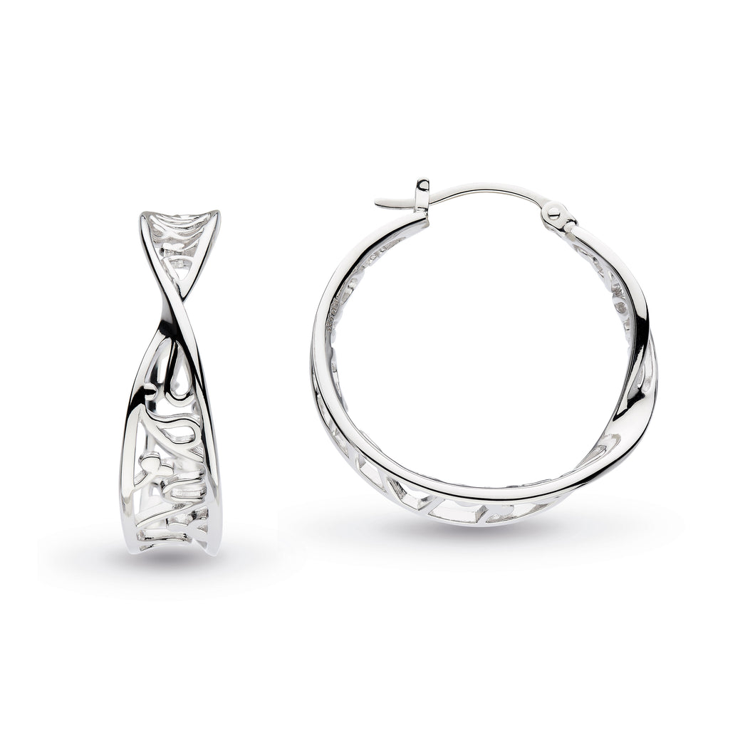 Kit Heath Blossom Flourish Large Hoop Earrings