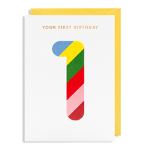 Load image into Gallery viewer, LD gift cards Birthday - Age cards- 1 to 9