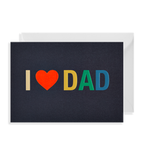 Load image into Gallery viewer, I Love Dad card