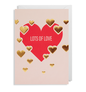 LD Greeting card - love