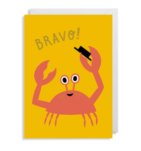 Congratulations BRAVO! greeting Card