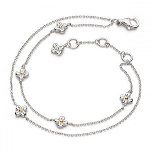 Kit Heath Blossom Flyte Honey Flower Double Bracelet