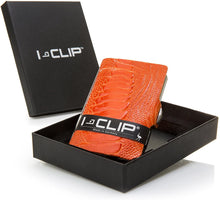 Load image into Gallery viewer, I-CLIP Wallet -ostrich  leather