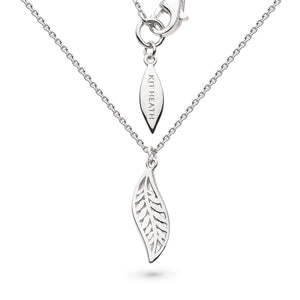 "Kit Heath Blossom Eden Mini Leaf  17"" Necklace"