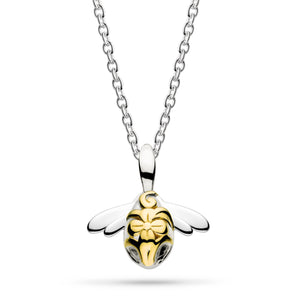 Kit blossom bumblebee gold plated Necklace