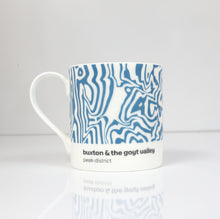 Load image into Gallery viewer, Peak District Contour mug- Buxton & the Goyt Valley