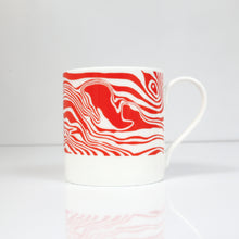 Load image into Gallery viewer, Peak District Contour mug-Chee Dale & the Monsal /trail