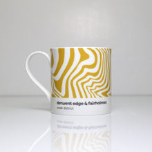 Load image into Gallery viewer, Peak District Contour mug-Derwent Edge & Fairholmes