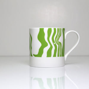 Peak District Contour mug-Chatsworth, edensor &pilsley
