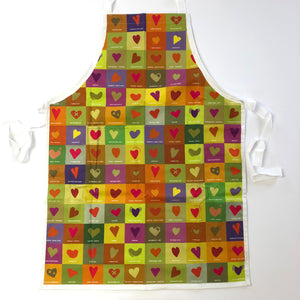 Peak District Apron- hearts of the park