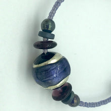 Load image into Gallery viewer, Murano glass Necklace Berenice purple