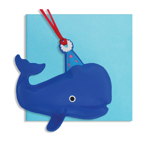 Inflatable Whale card