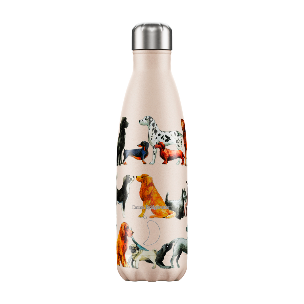 Chilly bottle 500ml DOGS Emma Bridgewater