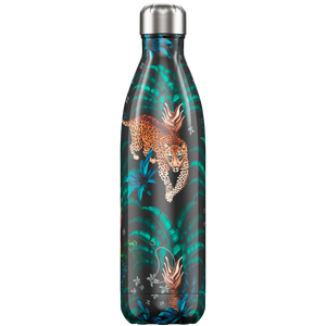 Chilly bottle 500ml Tropical leopard
