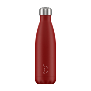 Chilly bottle 500ml Matte red