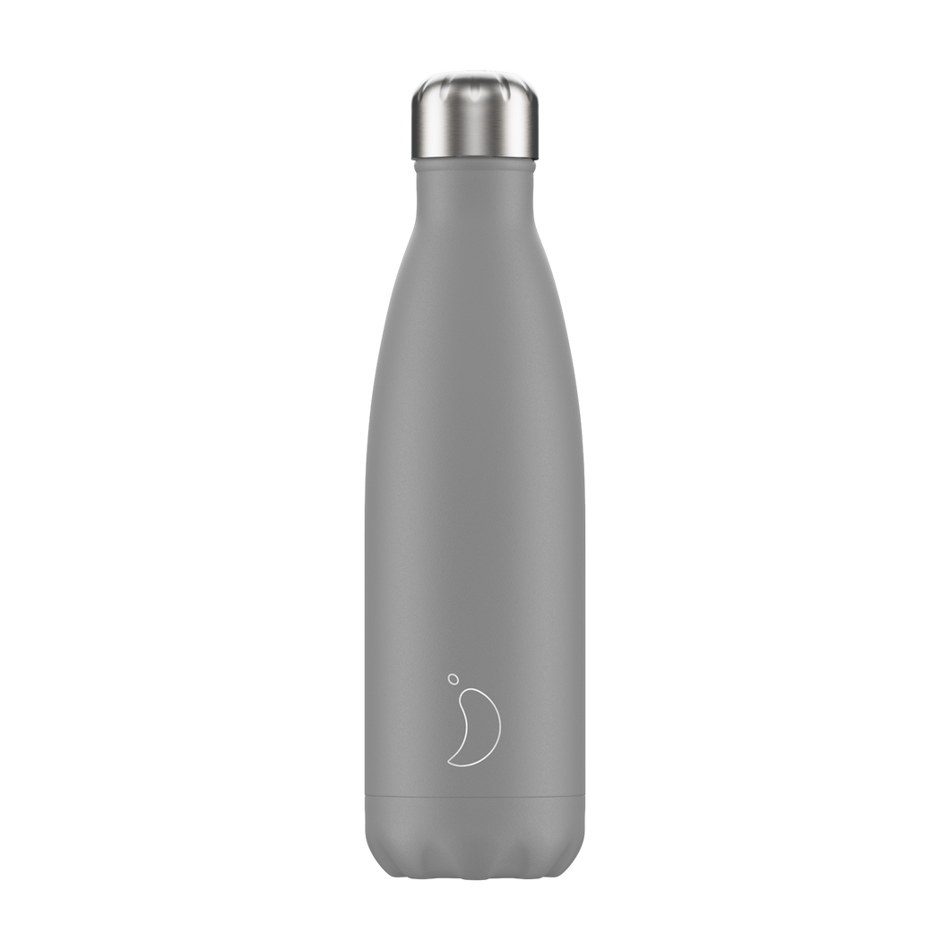 Chilly bottle 500ml Monochrome  grey