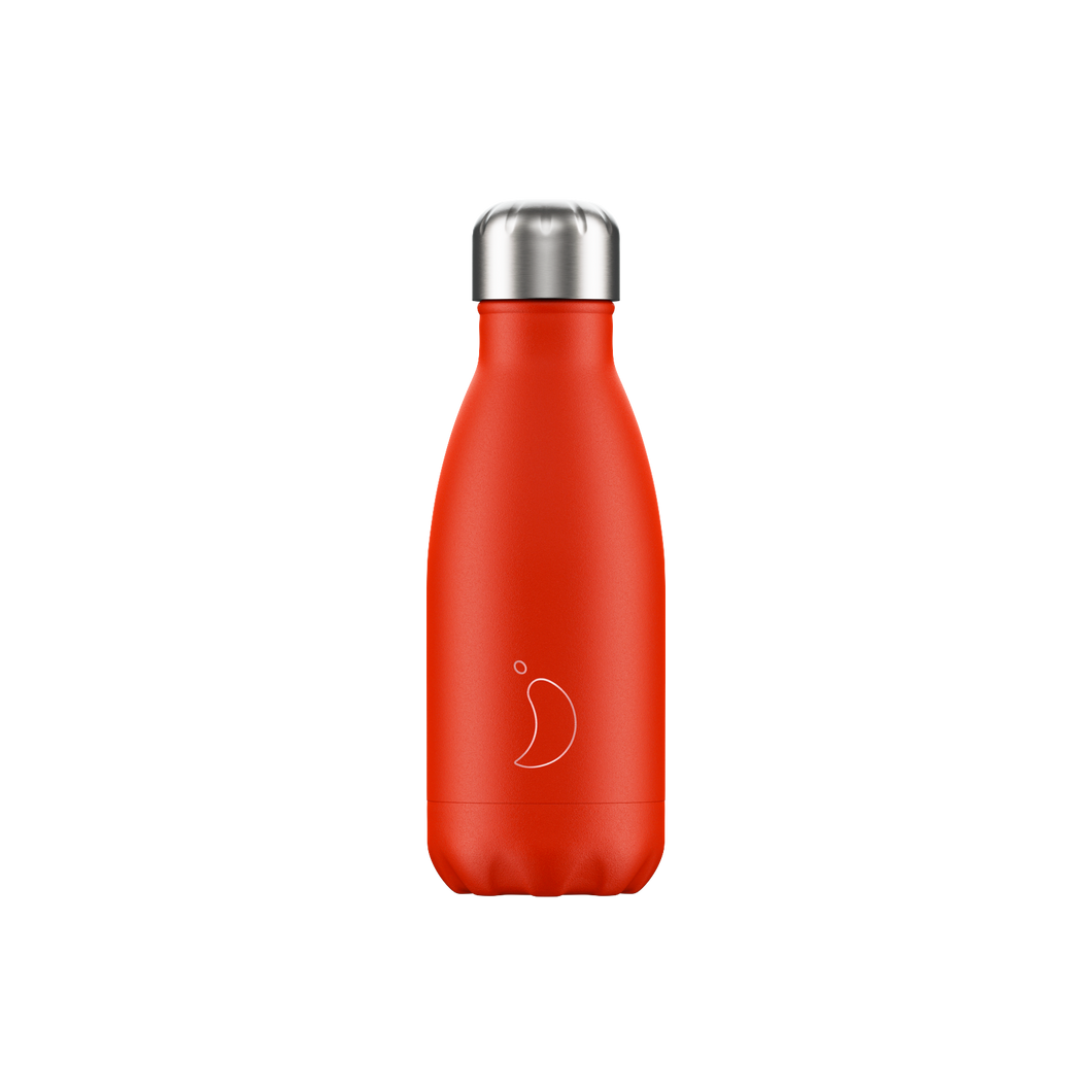 Chilly bottle 260 ml Neon red