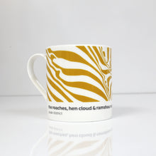 Load image into Gallery viewer, Peak District Contour mug- The Roaches, Hen Cloud & Ramshaw Rocks