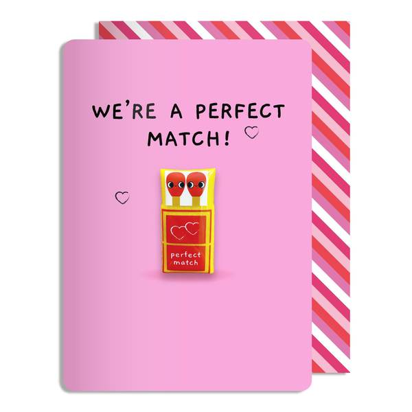 Perfect match magnet card