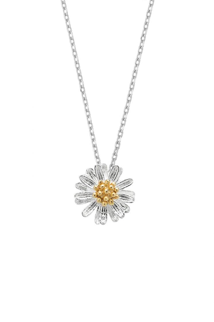 Estella Bartlett necklace -Wildflower- Silver plated