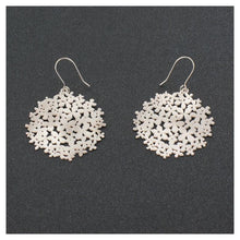 Load image into Gallery viewer, Hortensia Silver Pendant Earring