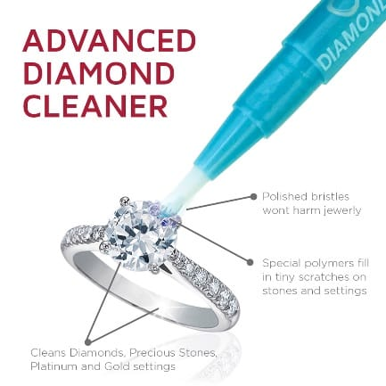 CONNOISSEURS DAZZLE STICK DIMOND JEWELLERY CLEANER