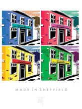 Load image into Gallery viewer, CONTEMPORARY DIGITAL ART Cards with Sheffield themes
