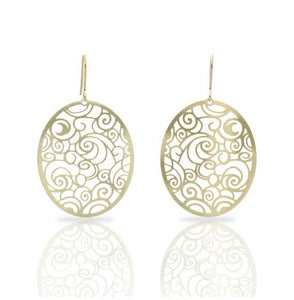 THE STARRY NIGHT GOLD EARRING