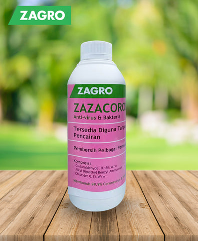 Zazacorona 1L (Multi-Surface Disinfectant Cleaner)