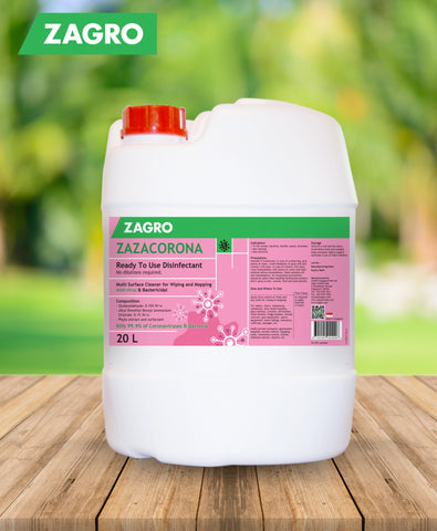 Zazacorona 20L (Multi-Surface Disinfectant Cleaner)