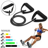 5 Levels Resistance Bands Fitness Yoga - Momomesh