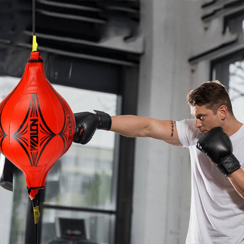 2021 Punching Ball PU Pear Boxing Bag - Momomesh