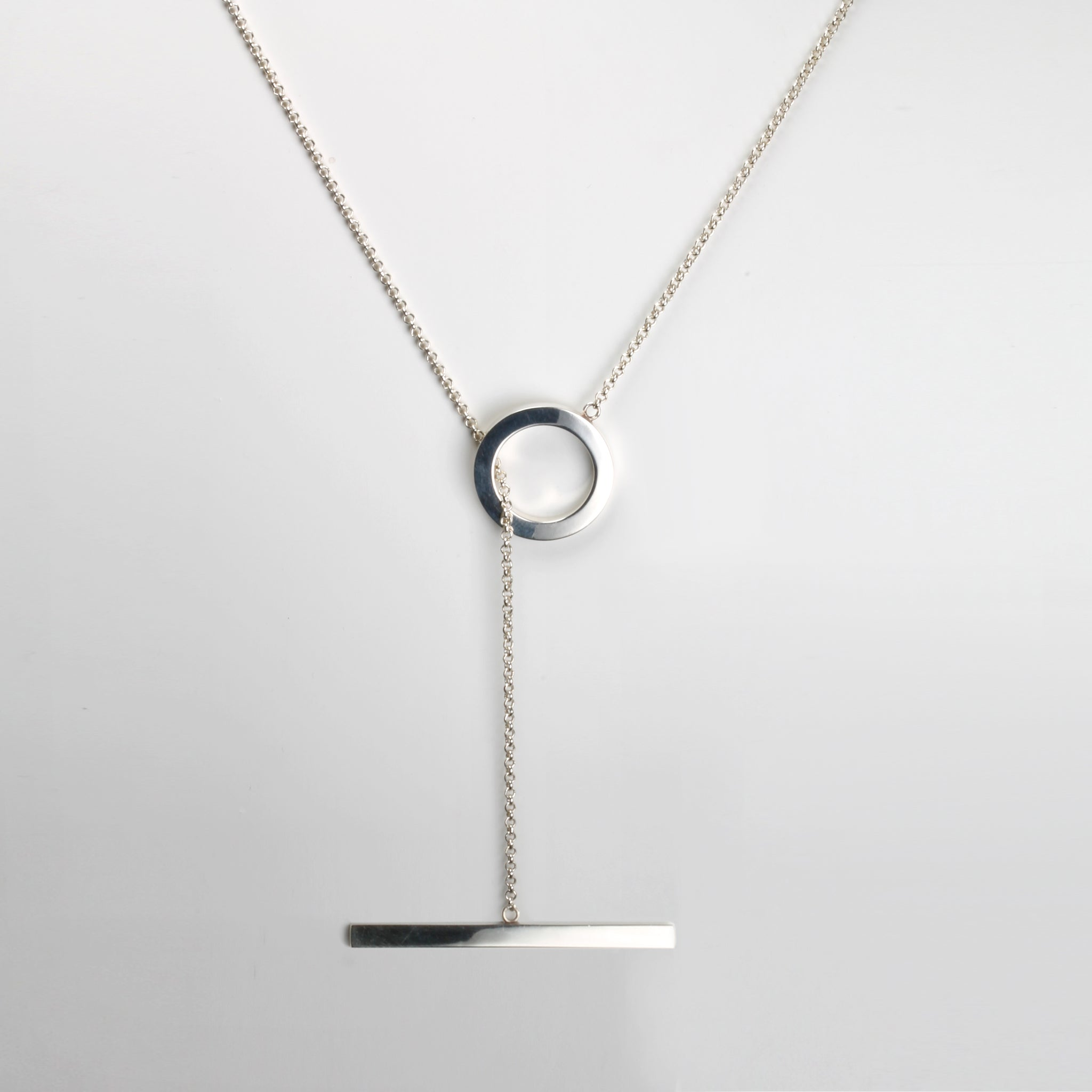 GEOMETRIC necklace round