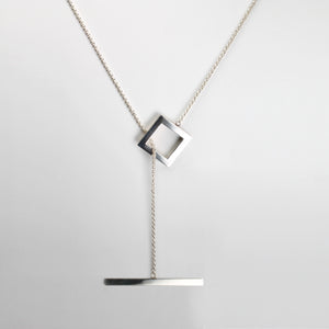GEOMETRIC necklace square