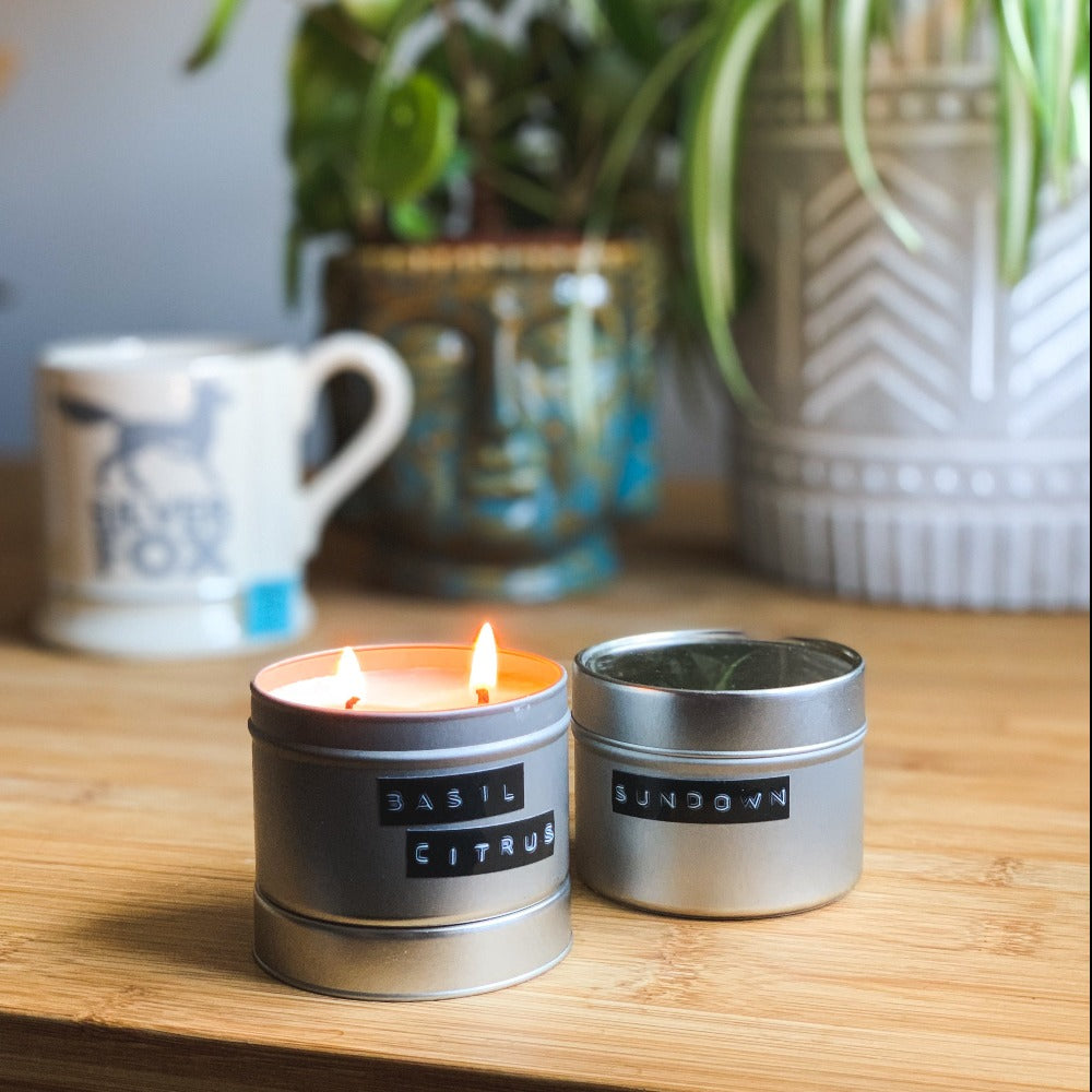 Kip Candle Co. Basil Citrus Candles