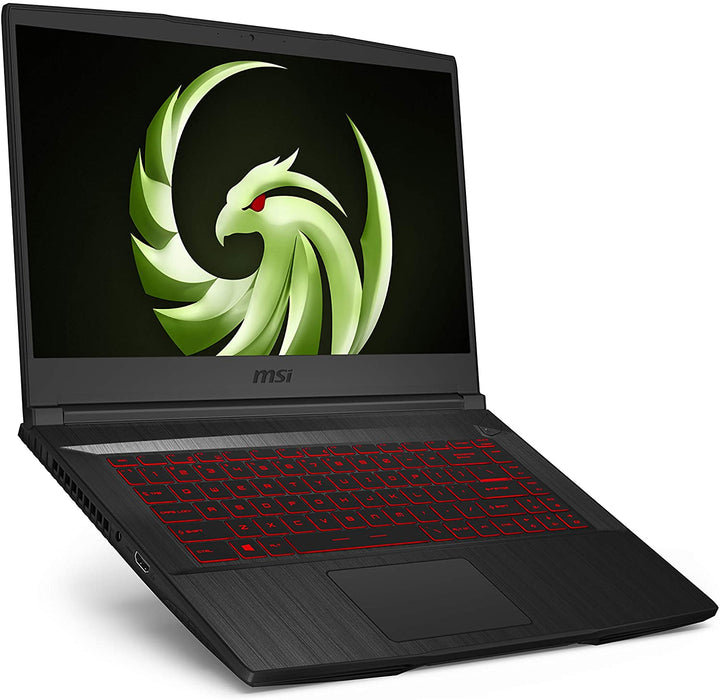 "MSI BRAVO NOTEBOOK AMD PROCESADOR RYZEN 7 4800H 2.9GHZ, MEMORIA RAM DE 8GB DDR4, DISCO 512GB SSD, PANTALLA 15.6"" FHD (1920X1080) AMD RADEON RX500M 4GB, WEBCAM, BLUETOOTH, WINDOWS 10 H 