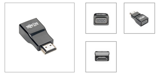 Convertidor Adaptador de Video HDMI Macho a VGA Hembra