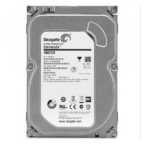 "ST1000VX001520 Disco duro 3.5"" 1TB SATA III 5900RPM optimizado para video vigilancia 24/7"