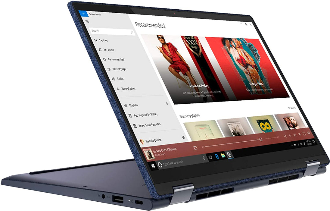 "NOTEBOOK LENOVO YOGA 6 2 IN1 PANTALLA DE 13.3"" FHD IPS TOUCHSCREEN NOTEBOOK PROCESADOR AMD RYZEN 5 4650U 2.1GHZ MEMORIA DE 8GB, DISCO DE 256GB PCLE SSD, WINDOWS 10 HOME"