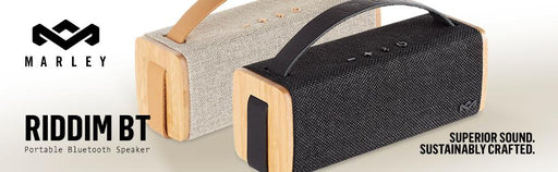 HOUSE OF MARLEY-RIDDIM BLUETOOTH AUDIO SYSTEM NATURAL
