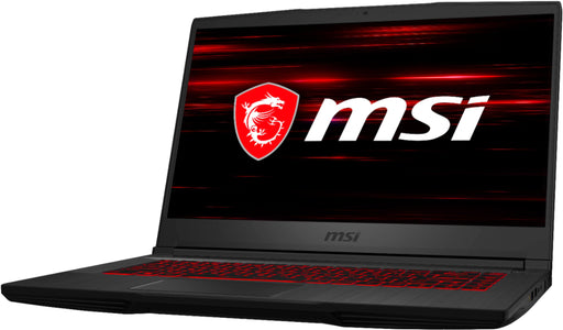 Laptop Gamer MSI Modelo GF65 | Core i7-9750h, Memoria Ram 8GB, Disco SSD 512 GB, Tarjeta Video 6 GB, Sistema Operativo Windows 10 Home - Color Negro
