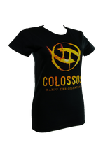 Laden Sie das Bild in den Galerie-Viewer, Colossos T-Shirt black Ladies