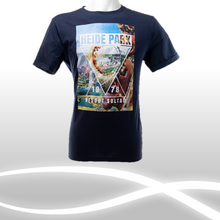 Laden Sie das Bild in den Galerie-Viewer, Heide Park T-Shirt blau, Herren