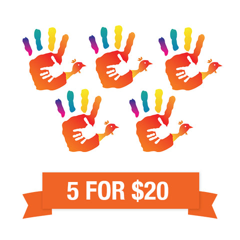 2019 Turkeys for the Triangle - 5 Raffle tickets for $20