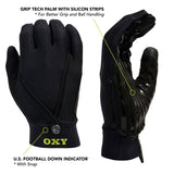 Sports Official Gloves - Year-Round Style - Black
