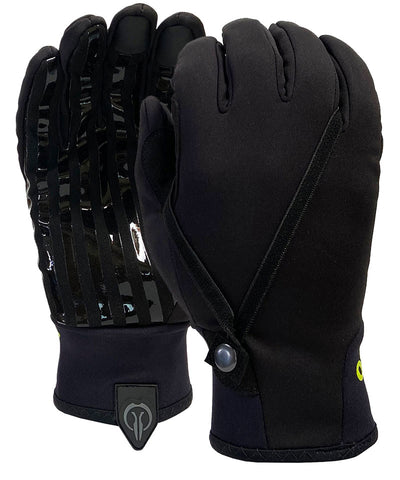 Sports Official Gloves - Winter Style - Black