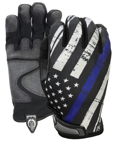 Blue Line Flag Gloves