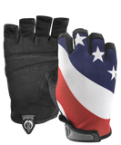 USA Flag Gloves (1/2 Finger)