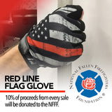 Red Line Flag Gloves (1/2 Finger)