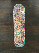 Alis Skateboard Deck 20 Years of Wonderland